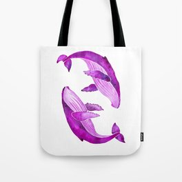 Humpback Whales | Pretty in Pink Tote Bag