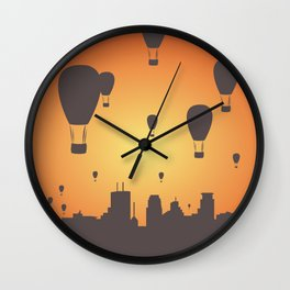 Get Lifted Wall Clock