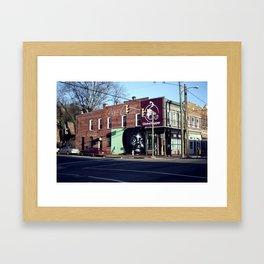 Richmond Art Mural Framed Art Print