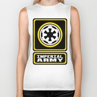 army Biker Tanks featuring Imperial Army by ubertwigg