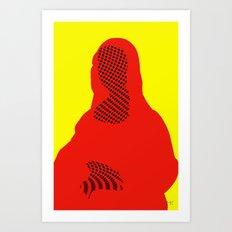 Mona, nu mach aber mal ein Punkt · 4 Art Print