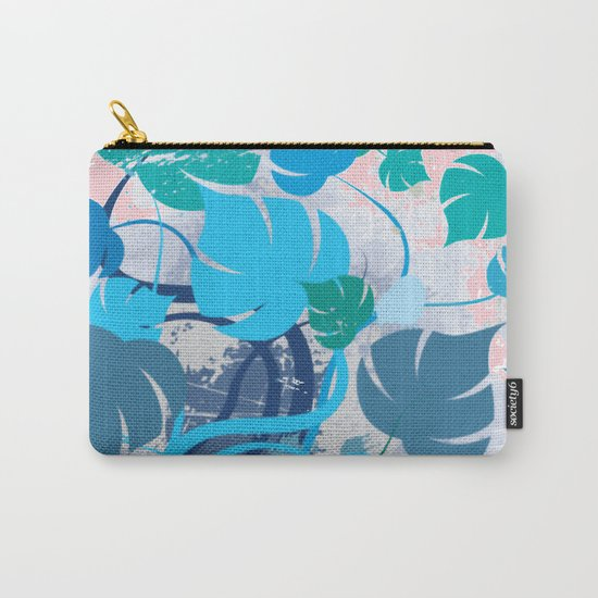 Monstera cavalcade Carry-All Pouch