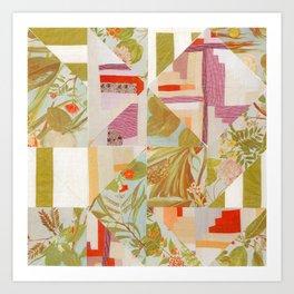 Quiltscape Art Print