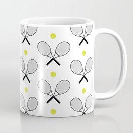 Tennis Pattern 2 Coffee Mug