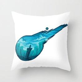 Final Fantasy VII Meteor Throw Pillow