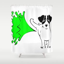 Jack Russel Shower Curtain