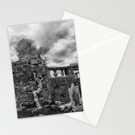 Old Tree in Cill Chriosd Churchyard Stationery Cards