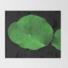 Lotus Leaf Throw Blanket