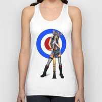 tank girl Tank Tops featuring Tank Girl by Valérie Loetscher (Vay)