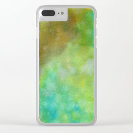 Abstract No. 157 Clear iPhone Case