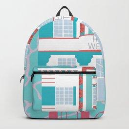 Miami Landmarks - Hotel Webster Backpack