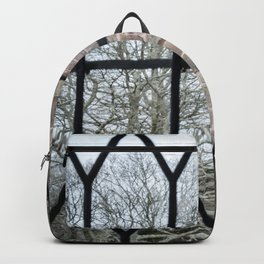 Windows Follow Trees Backpack