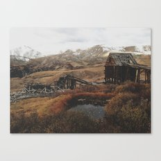 Mountain Mill Canvas Print