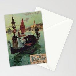 Paris Venice Victorian romantic travel Stationery Cards