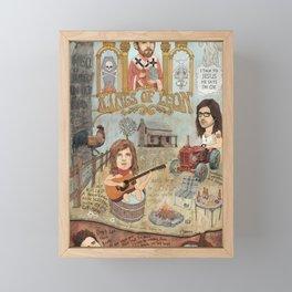 Kings Of Leon - Back Down South Framed Mini Art Print