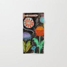 Gardening At Night Hand & Bath Towel