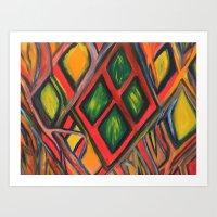 Incite Art Print