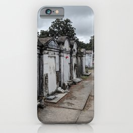 A Cemetery in New Orleans iPhone Case