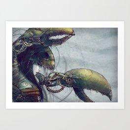 Zodiac Sign: Cancer Art Print