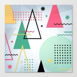 Abstract Christmas Canvas Print