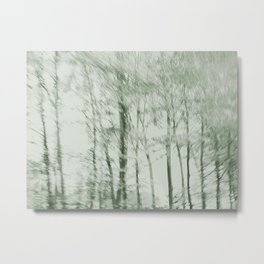 Windy woods (green) Metal Print