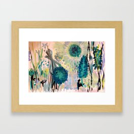 Drummer Pods Framed Art Print