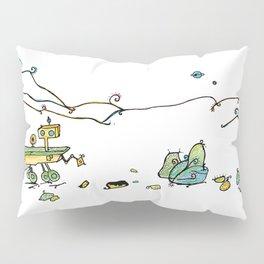 Mars Curiosity rover Pillow Sham
