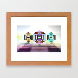 Aquarius Pearls  Framed Art Print