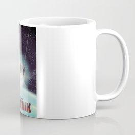 Sputnik Space Race Poster Coffee Mug