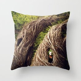 Among the Hidden Throw Pillow