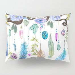 Wild Wood Roses And Twisted Branches Spirit Gazer Pillow Sham