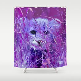 Cheetah_2014_0817 Shower Curtain