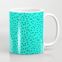 Strawberry Seeds | Teal Coffee Mug