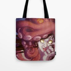Octopus Hat Tote Bag