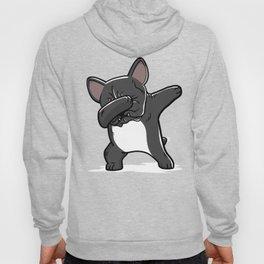 Funny Black French Bulldog Dabbing Hoody
