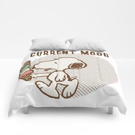 Snoopy Current Mood Comforters