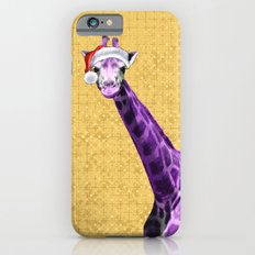 Tis The Season - Giraffe iPhone 6s Slim Case