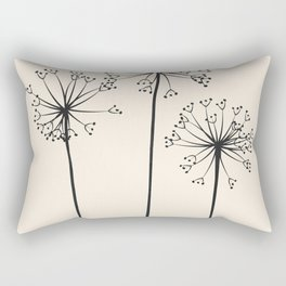 Dandelions Rectangular Pillow