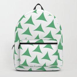 Green Tristar Backpack