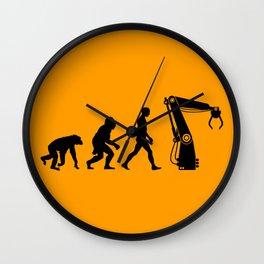 Replaced     Human Evolution Wall Clock