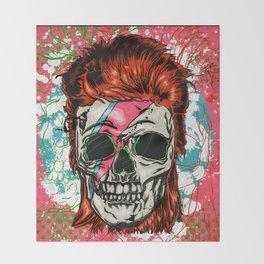 The Prettiest Skull Throw Blanket