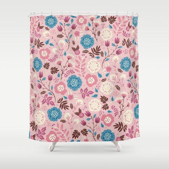 Pretty Pink Shower Curtain