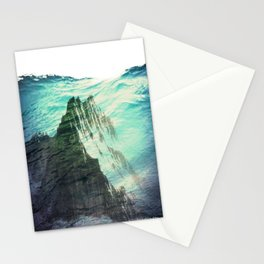 Underwater Mountain Stationery Cards