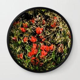 Flower Still Wall Clock