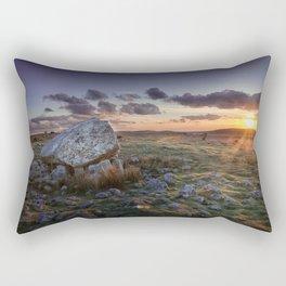 Arthur's stone at sunset Rectangular Pillow