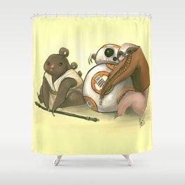 Sloth Wars Shower Curtain