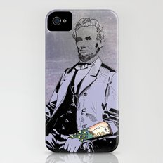 Inked Lincoln iPhone (4, 4s) Slim Case