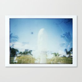 Sculpture Ghost Canvas Print