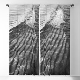 Sand Ripples and Waves | Beach | Landscape Photography Blackout Curtain