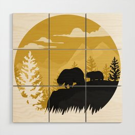 Bear Valley Wood Wall Art